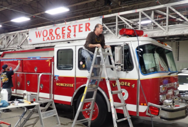 Supporting the Worcester Firefighters